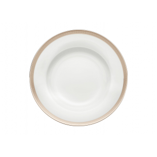 Richard Ginori Platinum piatto fondo 24,5 cm