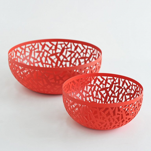 Alessi CACTUS Fruttiera SUPER RED