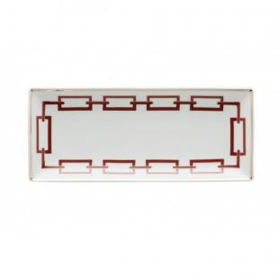 Richard Ginori 1735 CATENE vassoio rettangolare 28 X 12 cm