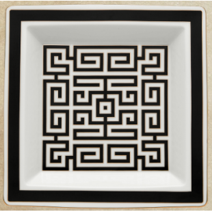 Richard Ginori 1735 LABIRINTO svuotatasche quadrato grande 24,5 cm