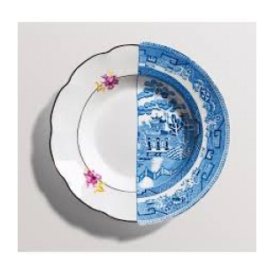 Soup plate  Design: CTRLZAK  Material: Bone China porcelain  Size: ø cm 25,4