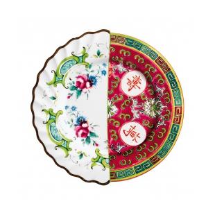 Fruit plate  Design: CTRLZAK  Material: Bone China porcelain  Size: ø cm 20  h 1,6