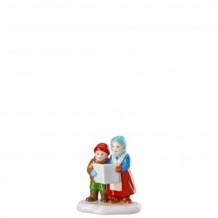 Hutschenreuther Weihnachtsmarkt Coro di bambini Figurine MERCATINO di NATALE 2019