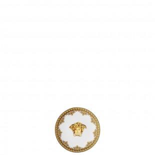 Versace Bomboniera I love Baroque Bianco Piattino 10 cm Completa di confezione Matrimonio/Nascita/Comunione/Laurea