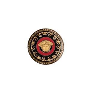 Versace Bomboniera Medusa Ikarus Rosso Piattino 10 cm Completa di confezione Matrimonio/Nascita/Comunione/Laurea