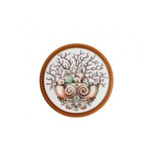 Versace Bomboniera ètoiles de la mer Piattino 10 cm Completa di confezione Matrimonio/Nascita/Comunione/Laurea