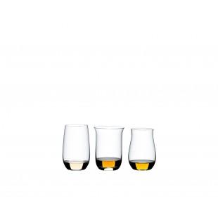 RIEDEL O WINE TUMBLER SPIRITS SET 3 pezzi liquore