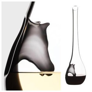 RIEDEL decanter vino HORSE cavallo in cristallo