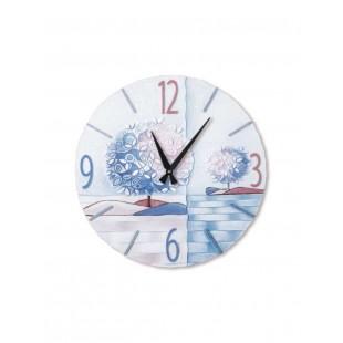 Cartapietra Orologio Rotondo Un Nuovo Orizzonte Iris 45cm