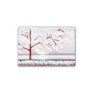 Cartapietra Quadro La prima luce rosa 80 x 55 cm 1008107RA