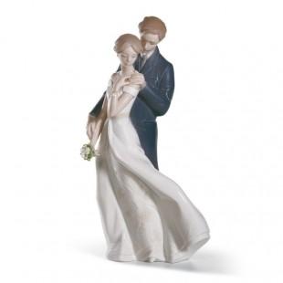 Lladrò AMORE ETERNO  Everlasting Love Couple Figurine