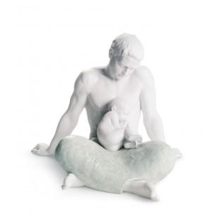 LLADRO' IL PADRE the father figurine