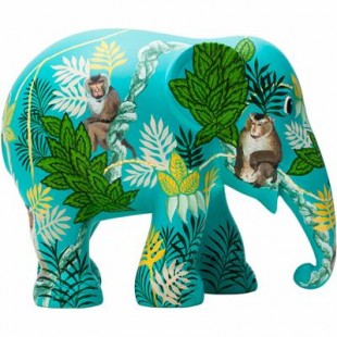 Elephant Parade MONKEY BUSINESS 10cm Elefante Limited EditIon