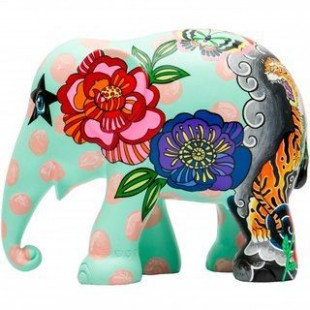 Elephant Parade GINGER ZAA 10cm Elefante Limited EditIon