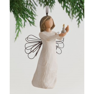 Willow Tree Angel of hope Ornament 26066 statuina da appendere Angelo della speranza