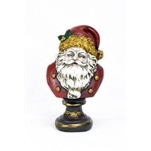 Jordan Interiors Statua Ornamentale Figura Babbo Natale in Resina BHQZ019-00