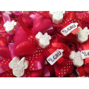 Bomboniera ROSSO Veletto Papillon Minnie compleanno