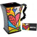 Romero Britto Giftcraft 3303012 Mug a New Day