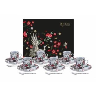 Tokyo Design Studio Magical Crane Espresso Set caffè 18pz Gru