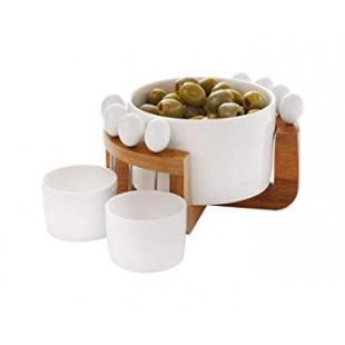 Maxwell&Williams Bamboozled Antipastiera Olive con ciotole