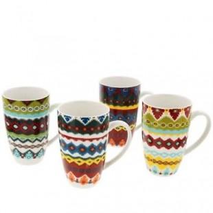 Maxwell&Williams Set 4 mug in scatola TAPESTRY
