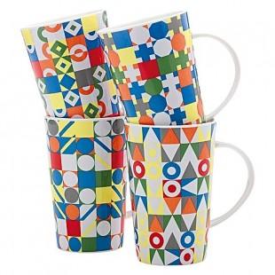 Maxwell&Williams Set 4 mug in scatola ROAD TRIP