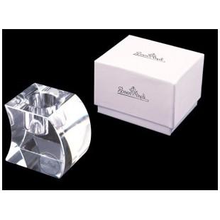 ROSENTHAL Bomboniera Candeliere in Cristallo 5cm Completa di confezione Battesimo Comunione Nascita matrimonio