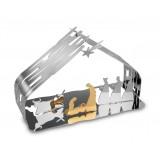 Alessi Bark CRIB BM09 Presepe in acciaio