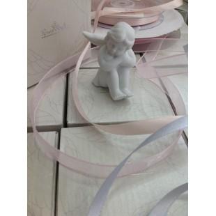 ROSENTHAL Bomboniera Angelo in porcellana Completa di confezione Battesimo Comunione Nascita matrimonio engel angioletto