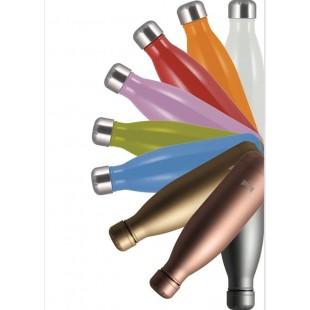 MEPRA Bob Bottiglia Termica in Acciaio Inossidabile 500 ml 12 Ore Caldo / 24 Ore Freddo