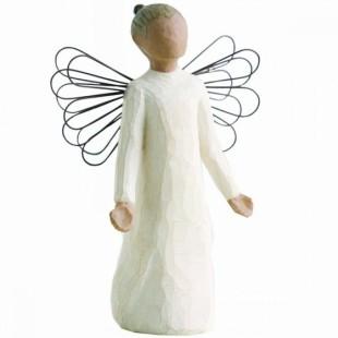 Willow Tree Bomboniera Angel of grace Completa di confezione compleanno nascita battesimo