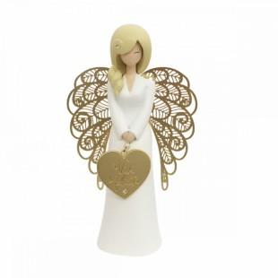 You are an Angel Bomboniera Vivi la felicità Completa di confezione compleanno nascita battesimo