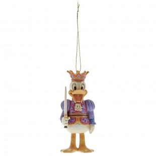 Jim Shore DISNEY Donald Duck Schiaccianoci ornament Paperino