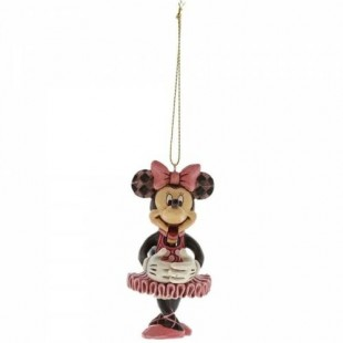 Jim Shore DISNEY Minnie Schiaccianoci ornament
