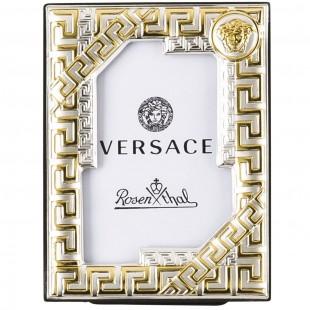 Versace Bomboniera Portafotografie 4 x 6 cm Frames VHF1 - Gold Completa di confezione Matrimonio/Nascita/Comunione/Laurea