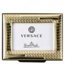 Versace Bomboniera Portafotografie 4 x 6 cm Frames VHF2 - Gold Completa di confezione Matrimonio/Nascita/Comunione/Laurea