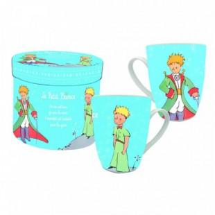 Le Petit Prince Bomboniera Mug Tazza AZZURRA Il Piccolo Principe Completa di confezione Matrimonio/Nascita/Comunione/Laurea