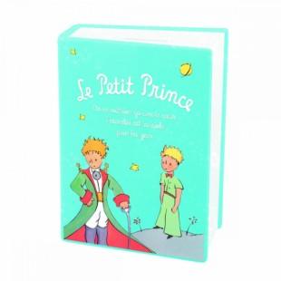 Le Petit Prince Bomboniera Salvadanaio Libro AZZURRO Il Piccolo Principe Completa di confezione Matrimonio/Nascita/Comunione