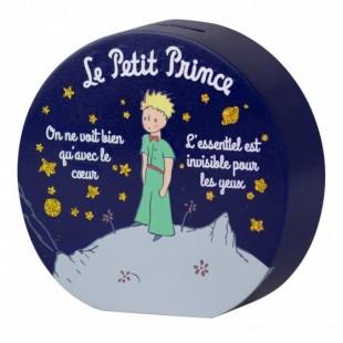 Le Petit Prince Bomboniera Salvadanaio Rotondo BLU Il Piccolo Principe Completa di confezione Matrimonio/Nascita/Comunione