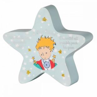 Le Petit Prince Bomboniera Salvadanaio STELLA Il Piccolo Principe Completa di confezione Matrimonio/Nascita/Comunione