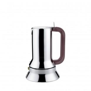 Alessi 9090 Caffettiera Espresso in acciaio inossidabile 18/10