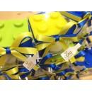 Bomboniera Scatola Lego in plexiglass Completa di confezione battesimo comunione matrimonio laurea