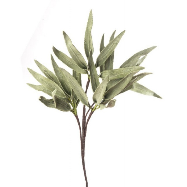 L'Oca Nera 1P118 Felce di Giava Verde in Eva-POLIETILENE ESPANSO 85h verde Fiore Artificiale
