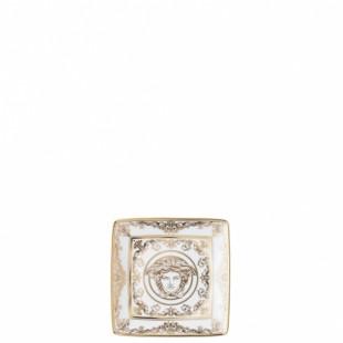 Versace Bomboniera Medusa Gala Coppetta Quadrata 12 cm Completa di confezione Matrimonio/Nascita/Comunione/Laurea