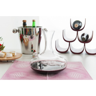 Alessi Mami XL Decanter in vetro cristallino