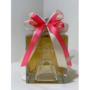 Bomboniera Scatola Bottiglia Liquore 50cl Quadrata Bassa completa di confezione personalizzabile matrimonio comunione laurea
