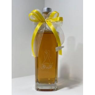 Bomboniera Bottiglia Liquore 50cl Alta completa di confezione confetti personalizzabile matrimonio comunione laurea
