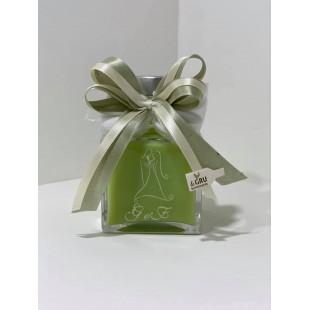 Bomboniera Scatola Bottiglia Liquore 20cl Cuore completa di confezione personalizzabile matrimonio comunione laurea