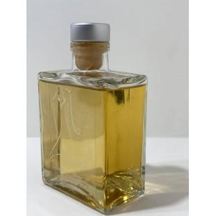 Bomboniera Bottiglia Liquore 20cl Cuore completa di confezione confetti personalizzabile matrimonio comunione laurea