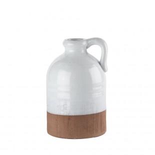 L'Oca Nera Bottiglia grande con manico in Stoneware 1M109